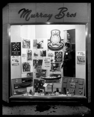 Murray Brothers Apprenticeship Week 1968, window display