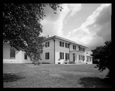 Parramatta Old Government House, Exterior view of central building