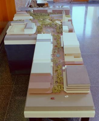 Scale Model Church Street Mall Development