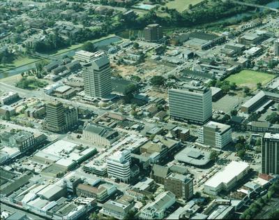 Aerial view of Parramatta City Centre, East View