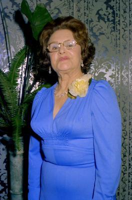 Parramatta Mayoral Ball 1976 : Portrait of a woman