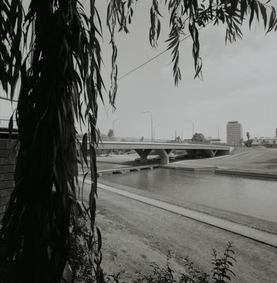 Barry Wilde Bridge view from Lenox Bridge side