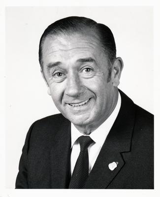 Parramatta R.S.L. Club, portrait of Mr Walker.