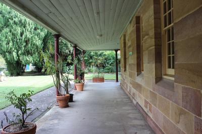 Female Factory Site - Yard 1 with verandah of Ward 1