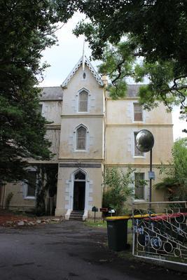 Roman Catholic Orphan School main building side access