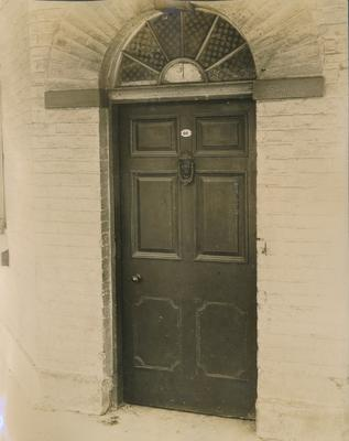 Wooden door - location unknown, possibly Parramatta Town Hall