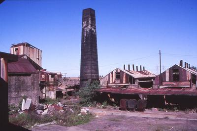 Delapidated industrial site in Parramatta LGA, location unknown