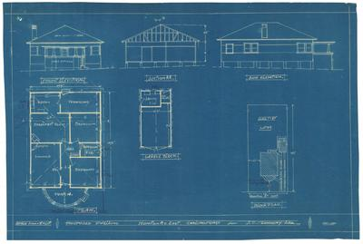 Building application and plan, residence. James Charles Flannery Lot 49 Honiton Avenue Carlingford
