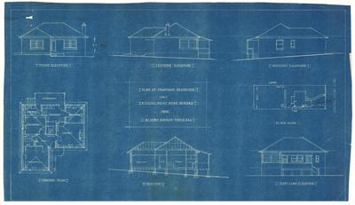 Building application and plan, residence. Arthur Yates and Co Part Lot 8 Kissing Point Road Dundas