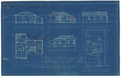 Building application and plan, residence. C G Sowell Lot 2 Fitzgerald Ermington