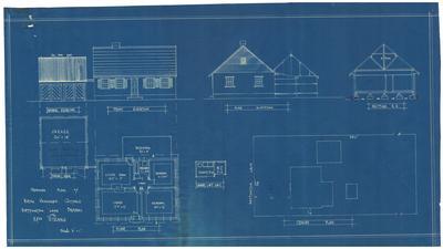 Building application and plan, residence. Elizabeth Strong Part Lot 3 Bettington Lane Dundas
