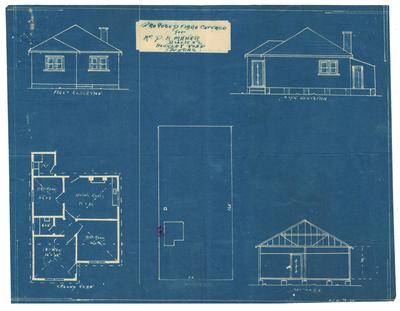 Building application and plan, detached dwelling. D M Maher Lot 52 Hockley Road, Eastwood
