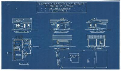 Building application and plan, detached cottage. Chris franks lot 20 Edenlee Street Epping
