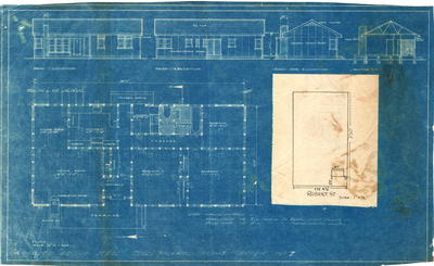 Building application and plans detached residence,William Dudley Myhill Lot 6B Section 2 Robert StreetTelopea