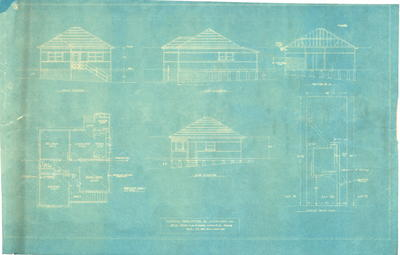 Building application and plans residence, Mr H. R. Philipson Lot 20 Kissing Point Road Dundas