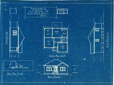 Building application and plans residence,C F morgan Lot 4 Tintern Carlingford
