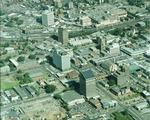 Aerial view of Parramatta City centre